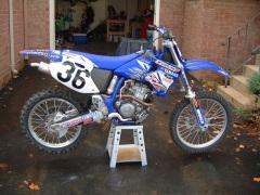 My 2001 Yamaha YZ250F