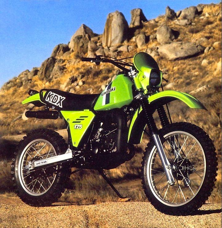 1980 Kawasaki KDX175 - Cycle World Photo