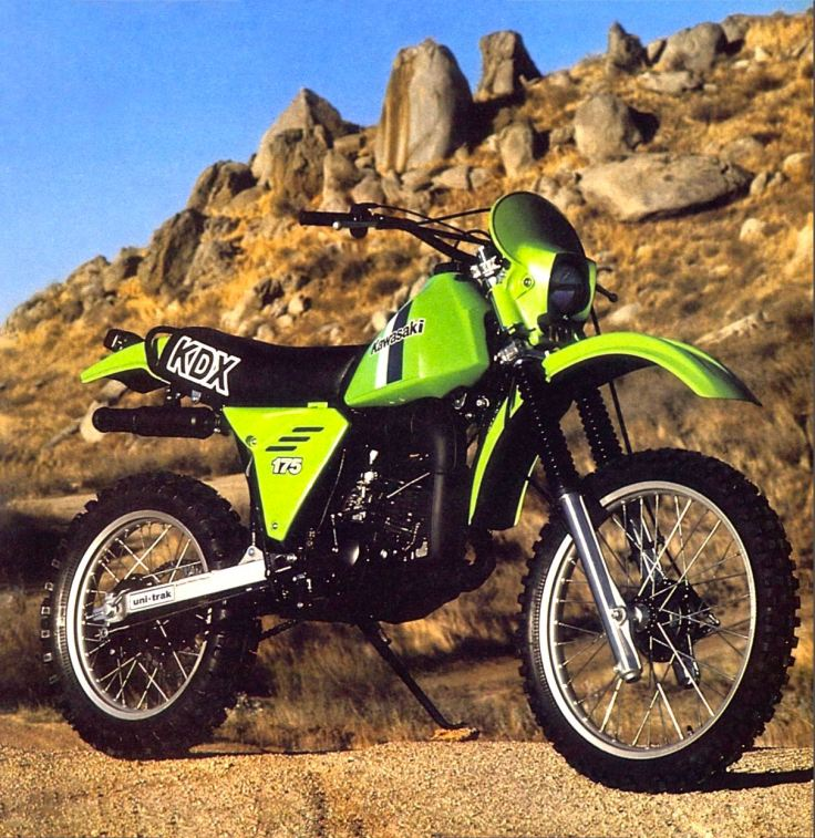 1980 Kawasaki KDX175 - Cycle World Photo
