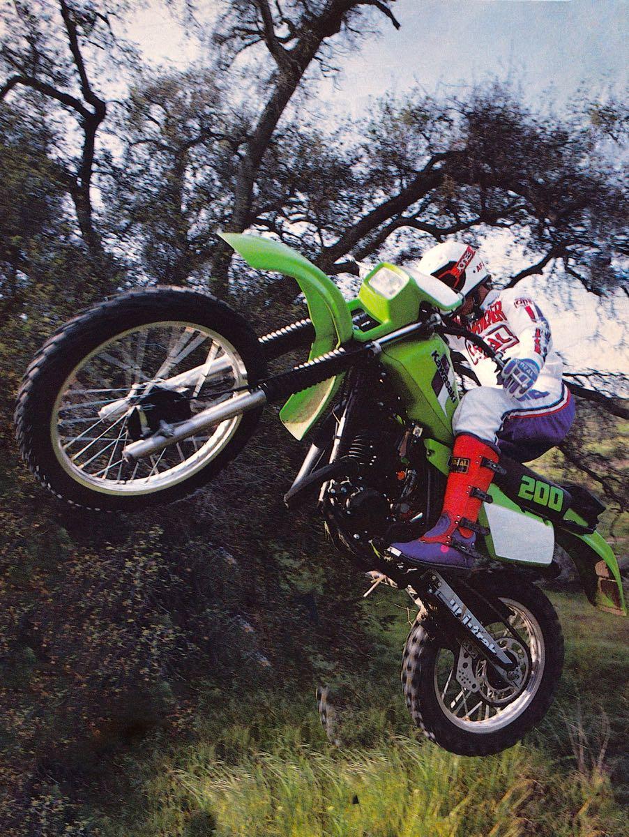 1983 Kawasaki KDX200