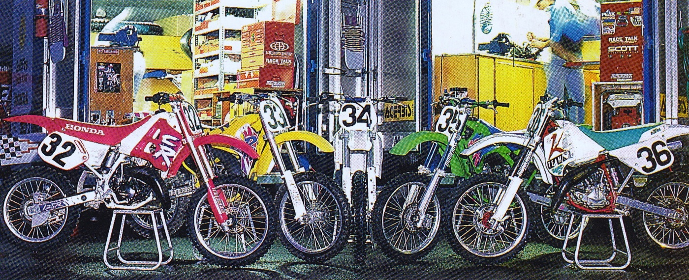 1992 Motocross Action 125 Motocross Shootout The Motocross Vault