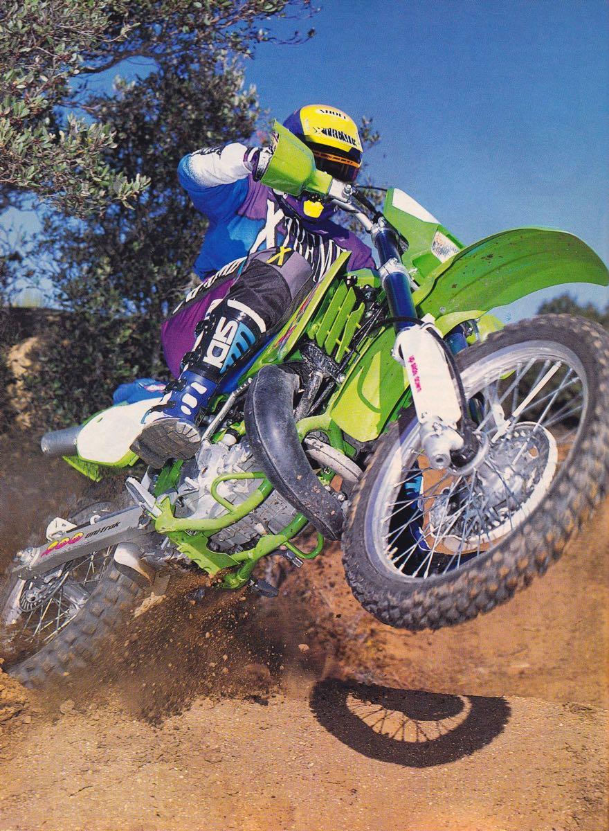 1994 Kawasaki KDX200 - Dirt Bike Photo