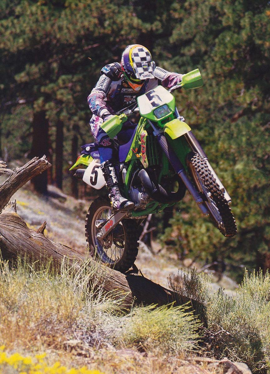 1995 Kawasaki KDX200 - Dirt Bike Photo