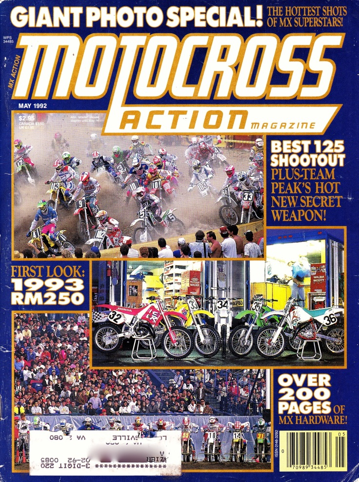 #5 1992 May MXA