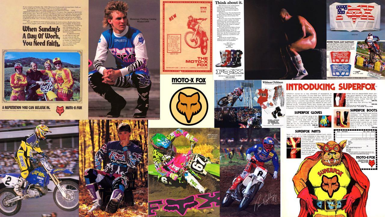 0912498d5c2 Fox Racing Motocross Gear History 1974-2000 – The Motocross Vault