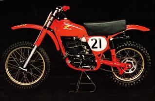 1975 RC400 of Pierre Karsmakers