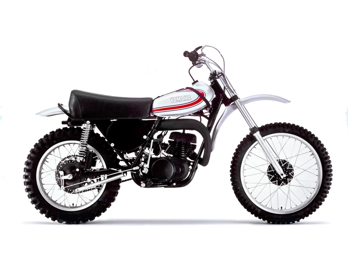 1974 Yamaha YZ250 Right Side- Photo Credit- Yamaha