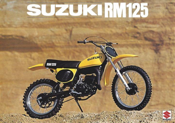 1976 Suzuki RM125 Brochure 1