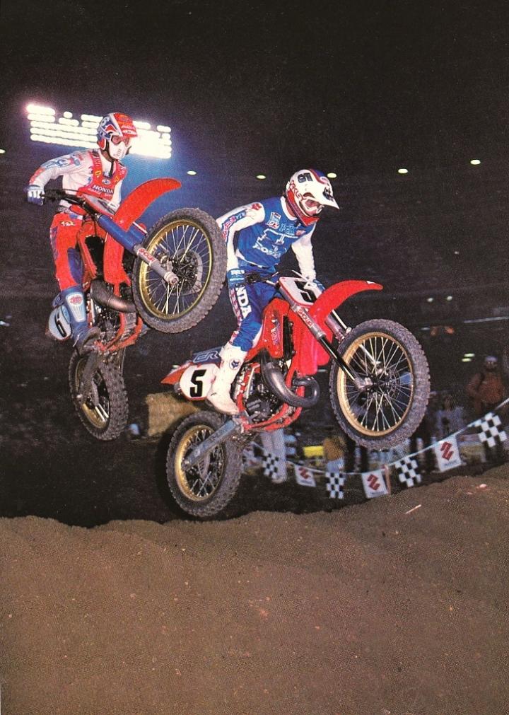 1986 Anaheim David Bailey and Rick Johnson