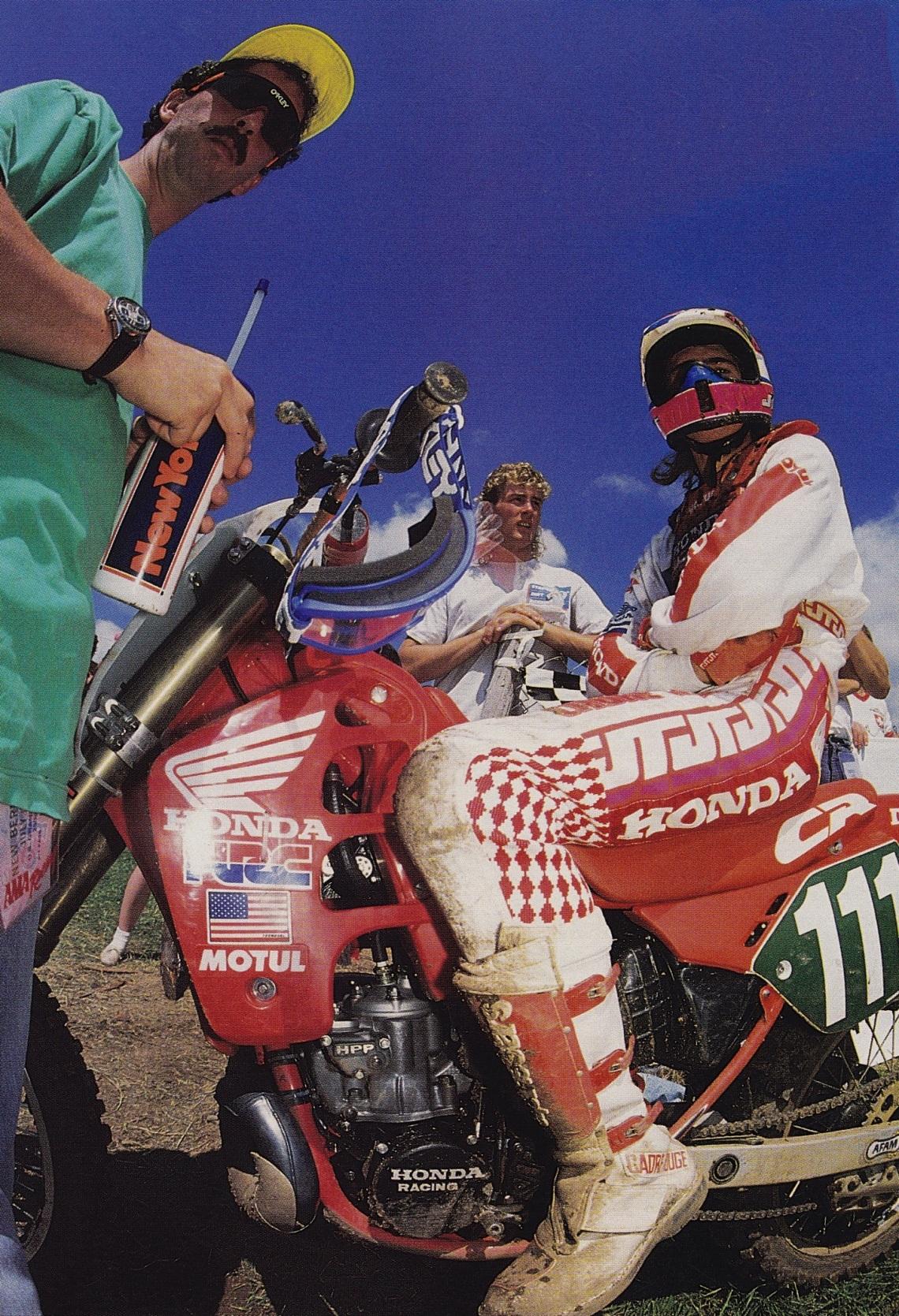 1989 Unadilla USGP Jean-Michel Bayle