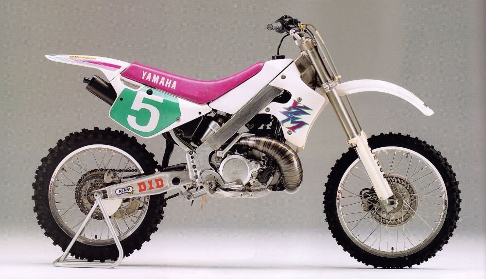 1991 Factory Yamaha YZM250 OWCO
