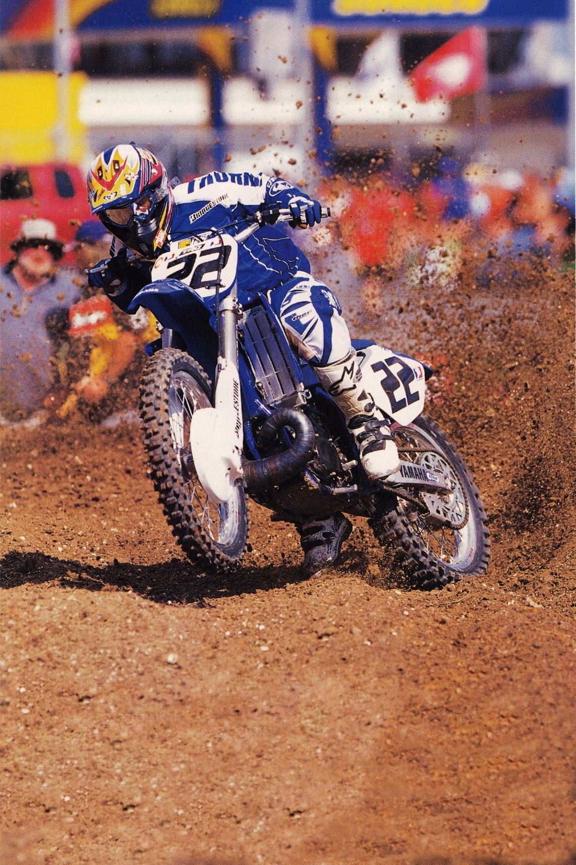 2004 Daytona Chad Reed - Garth Milan Pic