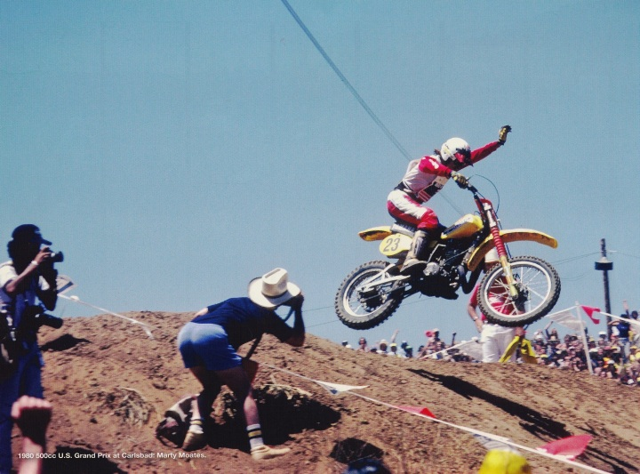 Marty Moates At the 1980 Carlsbad USGP