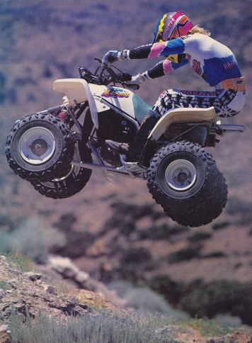 1991 Yamaha Blaster - Dirt Wheels Pic