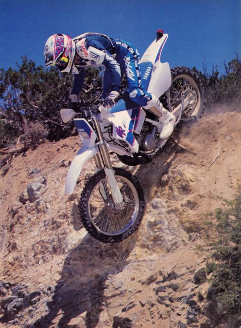 1991 Yamaha WR200 - Dirt Wheels Pic